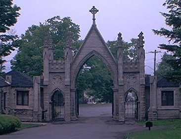 Gates out of Forest Hills