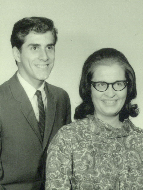 My parents, 34 years ago!